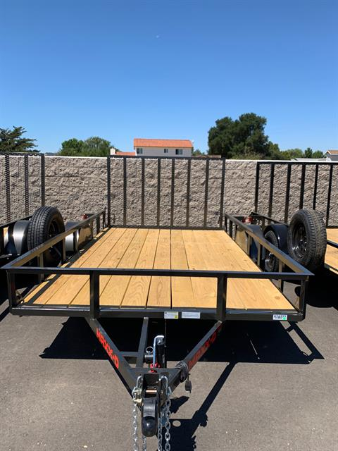 "2021 MAXXD TRAILERS 12' X 83"" SA UTILITY TRAILER in Paso Robles, California - Photo 1"