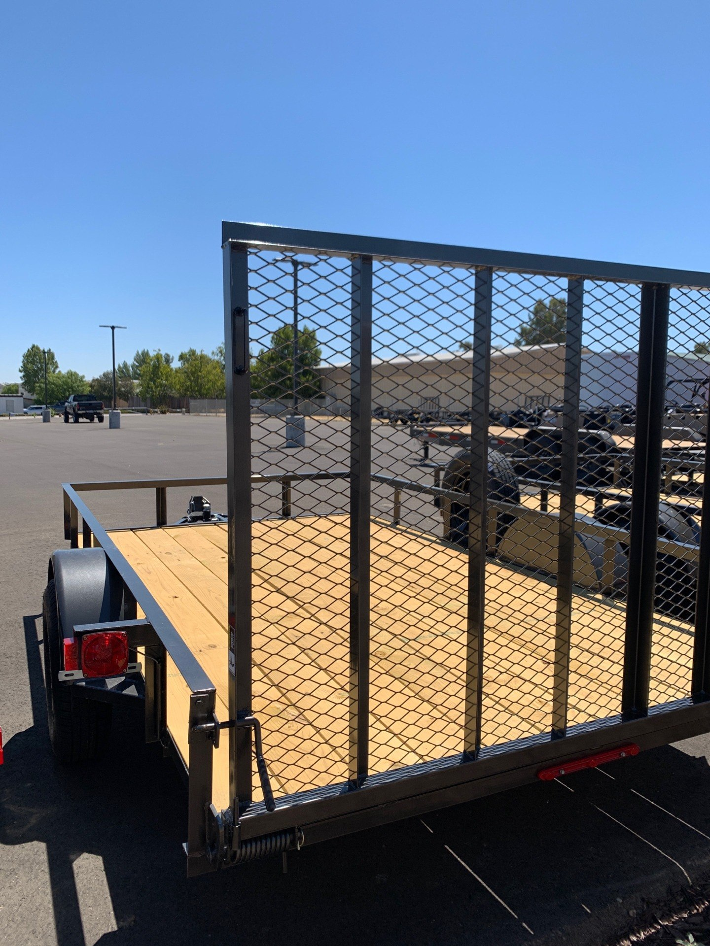 "2021 MAXXD TRAILERS 12' X 83"" SA UTILITY TRAILER in Paso Robles, California - Photo 3"