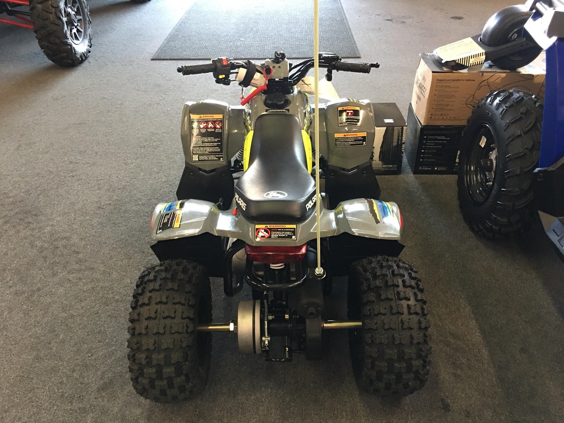 2019 Polaris Outlaw 50 in Paso Robles, California - Photo 3