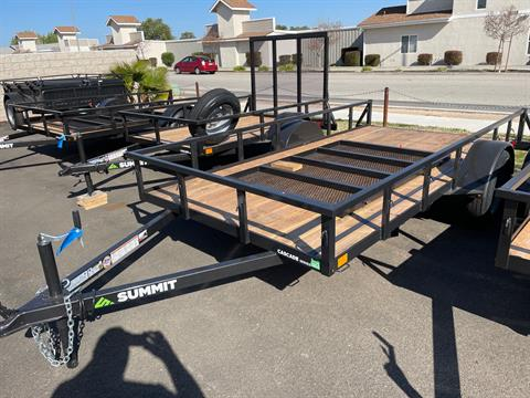 2021 SUMMIT TRAILER MFG Cascade 6 x 12 SA in Paso Robles, California - Photo 1