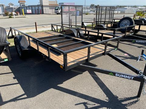 2021 SUMMIT TRAILER MFG Cascade 6 x 12 SA in Paso Robles, California - Photo 2