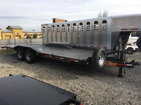 "2019 MAXXD TRAILERS 24' x 102"" 8"" CHANNEL POWER TILT  in Paso Robles, California"