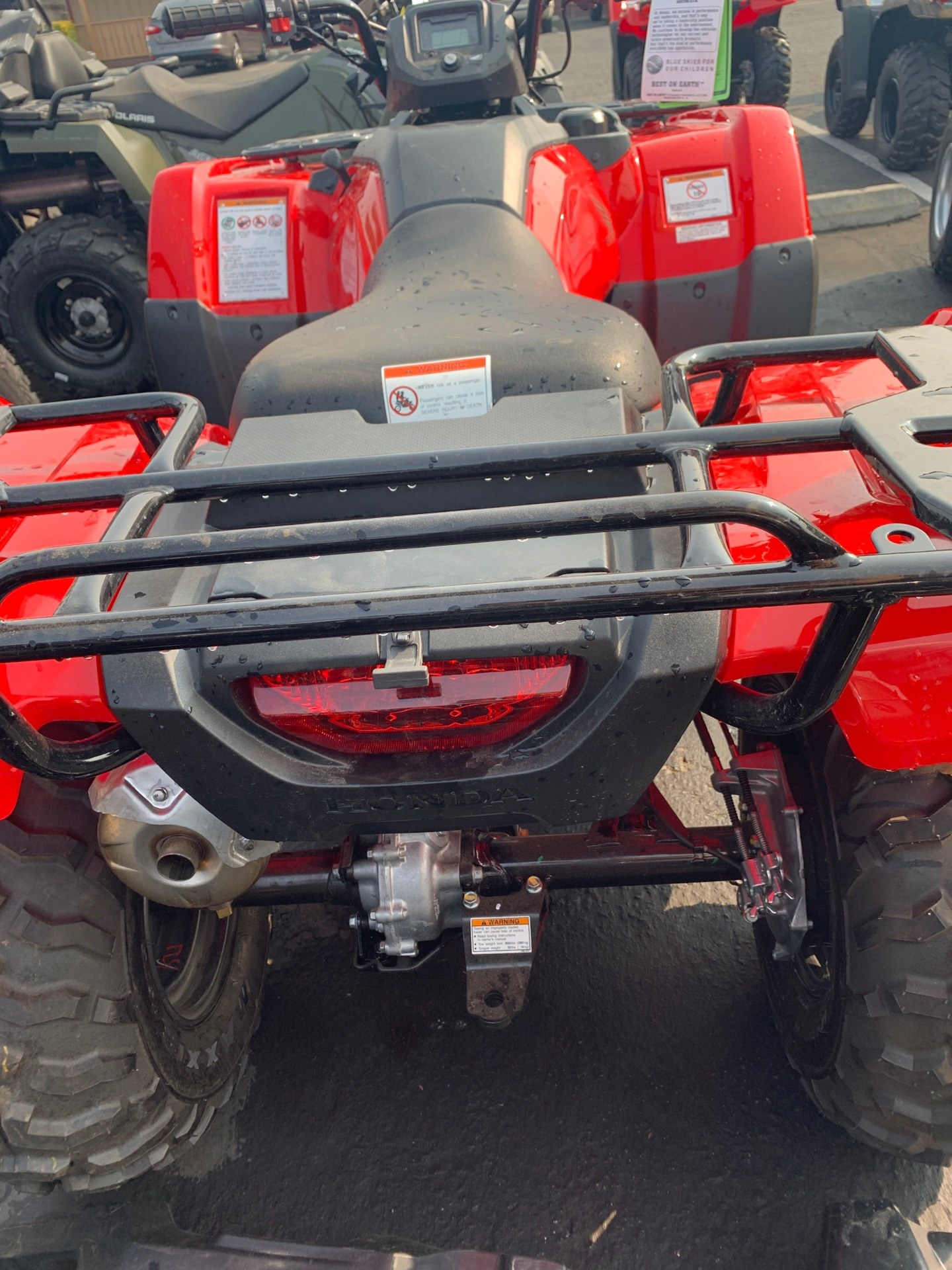 2021 Honda FourTrax Rancher 4x4 in Paso Robles, California - Photo 4