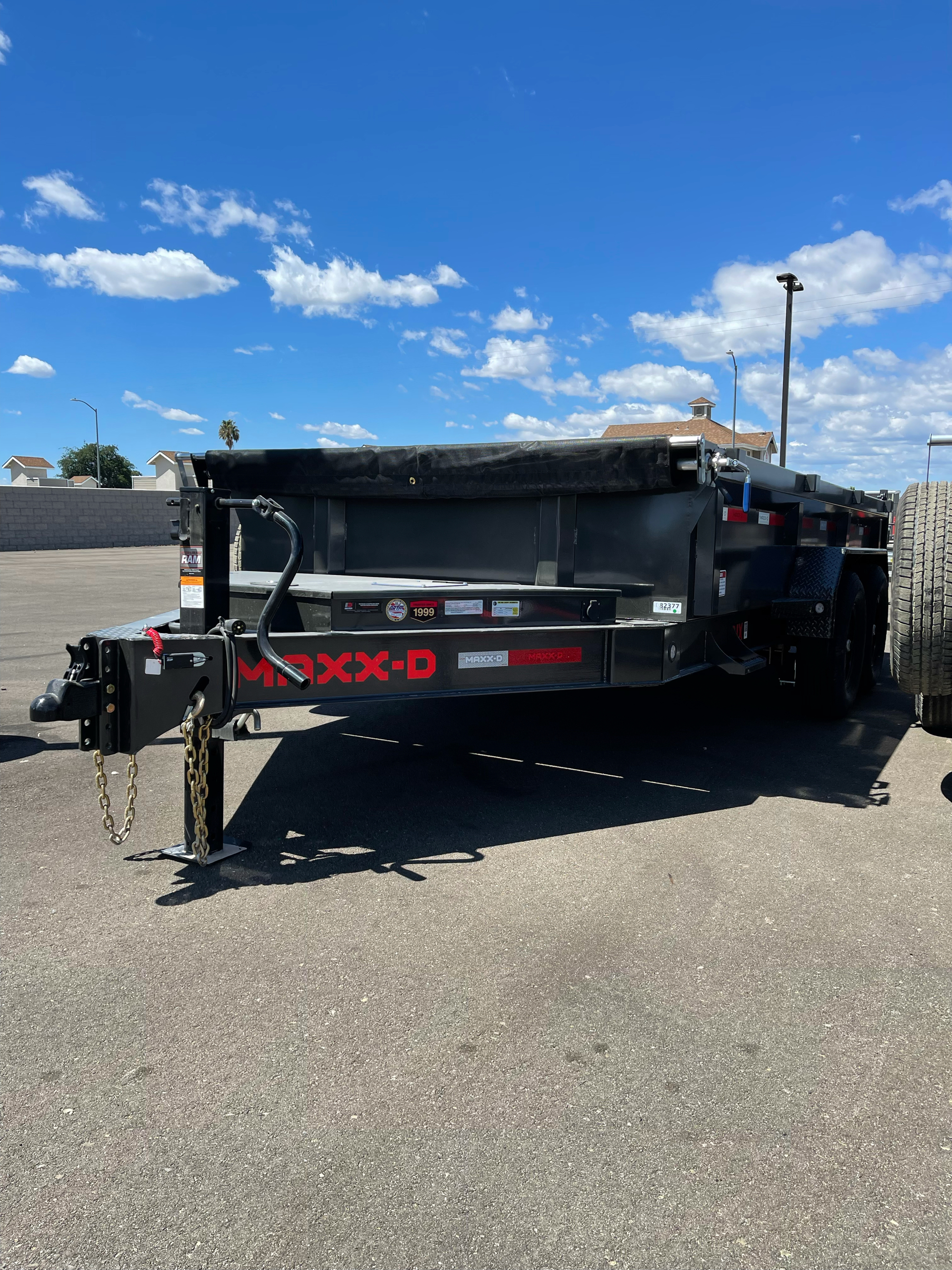 2021 MAXXD TRAILERS 14' X 83' I-BEAM DUMP TRAILER in Paso Robles, California - Photo 1