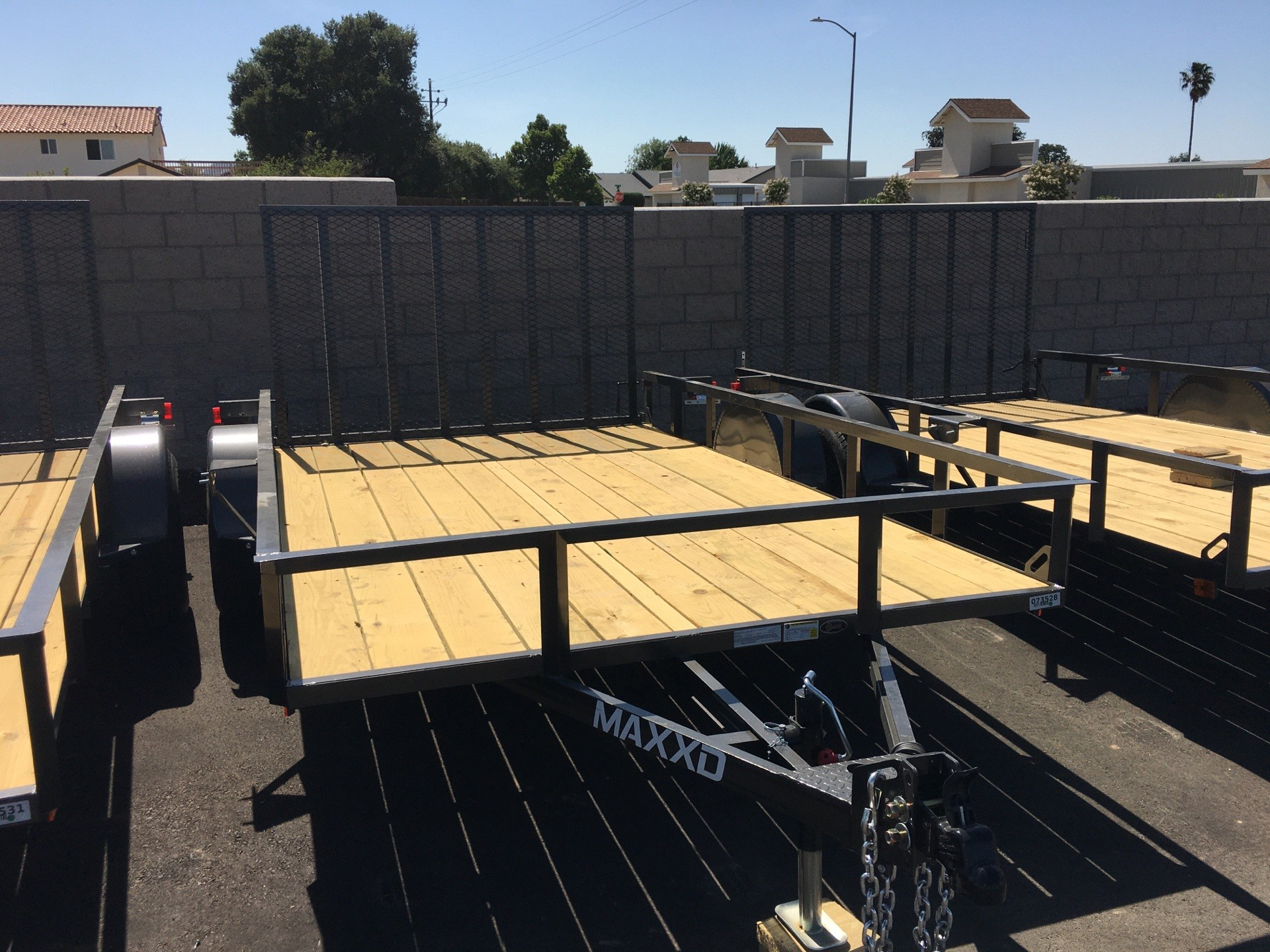 "2020 MAXXD TRAILERS 12' X 83"" SA UTILITY in Paso Robles, California - Photo 1"