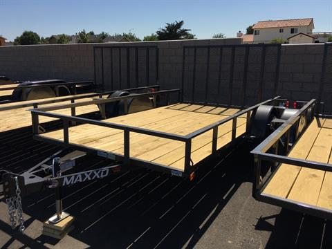 "2020 MAXXD TRAILERS 12' X 83"" SA UTILITY in Paso Robles, California - Photo 2"