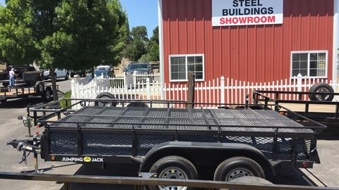 2018 JUMPING JACK TRAILERS  6X12 WITH 12' TENT  in Paso Robles, California