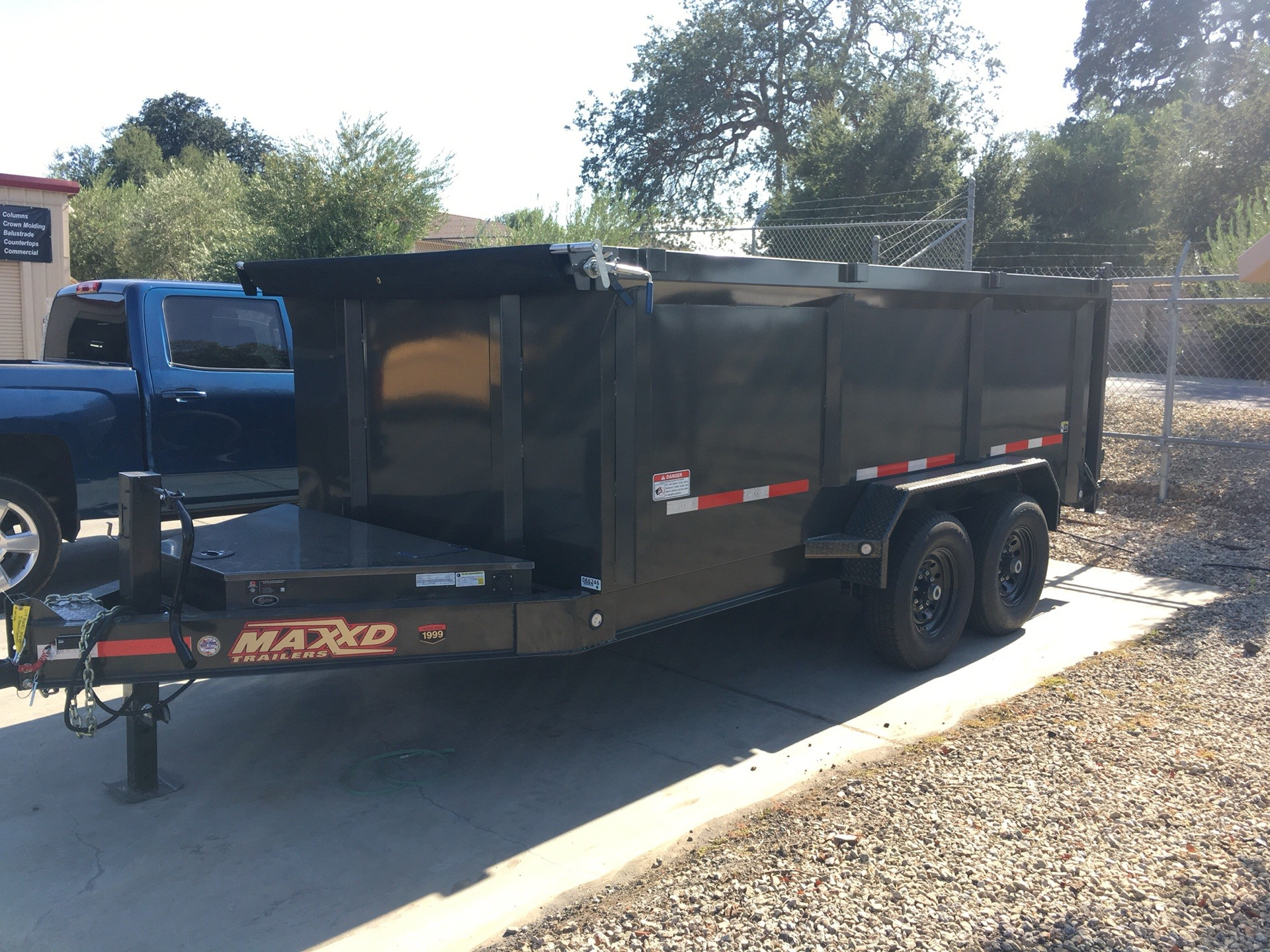 "2019 MAXXD TRAILERS 14' X 83"" I-BEAM DUMP in Paso Robles, California - Photo 5"