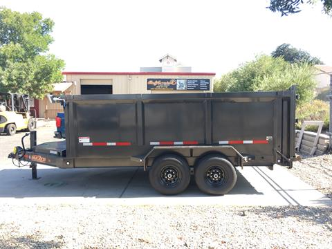 "2019 MAXXD TRAILERS 14' X 83"" I-BEAM DUMP in Paso Robles, California - Photo 4"