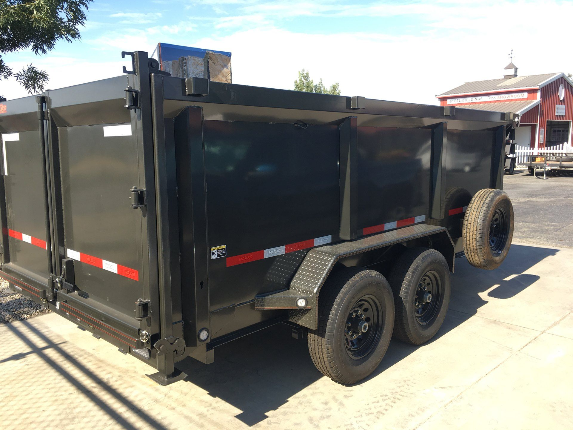 "2019 MAXXD TRAILERS 14' X 83"" I-BEAM DUMP in Paso Robles, California - Photo 7"