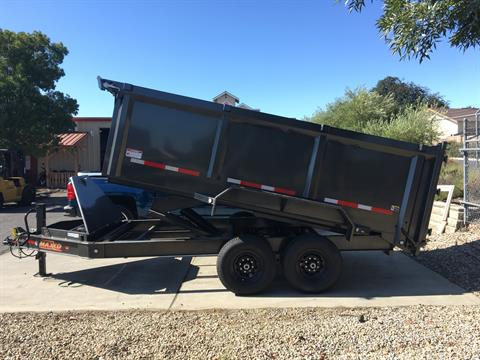 "2019 MAXXD TRAILERS 14' X 83"" I-BEAM DUMP in Paso Robles, California - Photo 2"