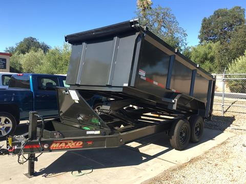 "2019 MAXXD TRAILERS 14' X 83"" I-BEAM DUMP in Paso Robles, California - Photo 1"