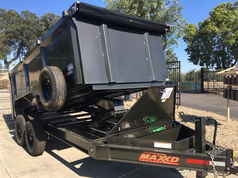 "2019 MAXXD TRAILERS 14' X 83"" I-BEAM DUMP in Paso Robles, California - Photo 3"