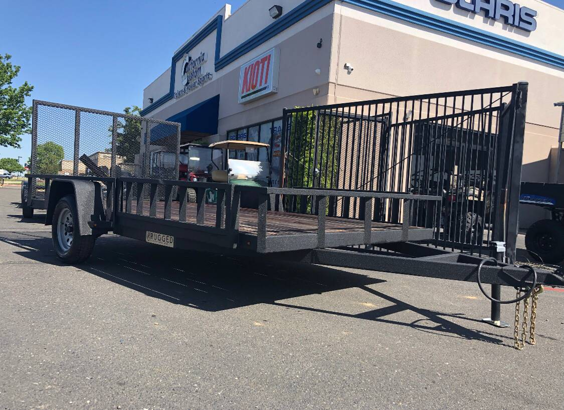 2018 Charmac Trailers 12' X 6' RUGGED STEEL UTILITY TRAILER in Paso Robles, California - Photo 1