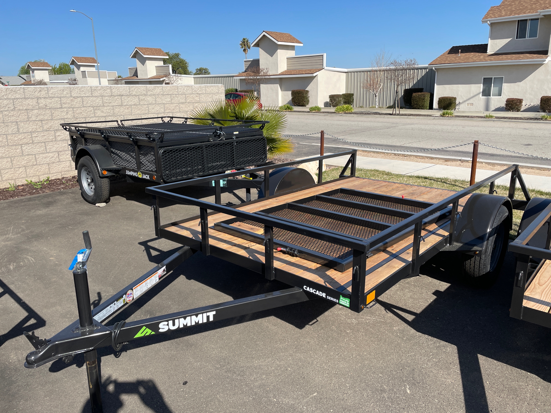 2021 SUMMIT TRAILER MFG SA UTILITY in Paso Robles, California - Photo 1