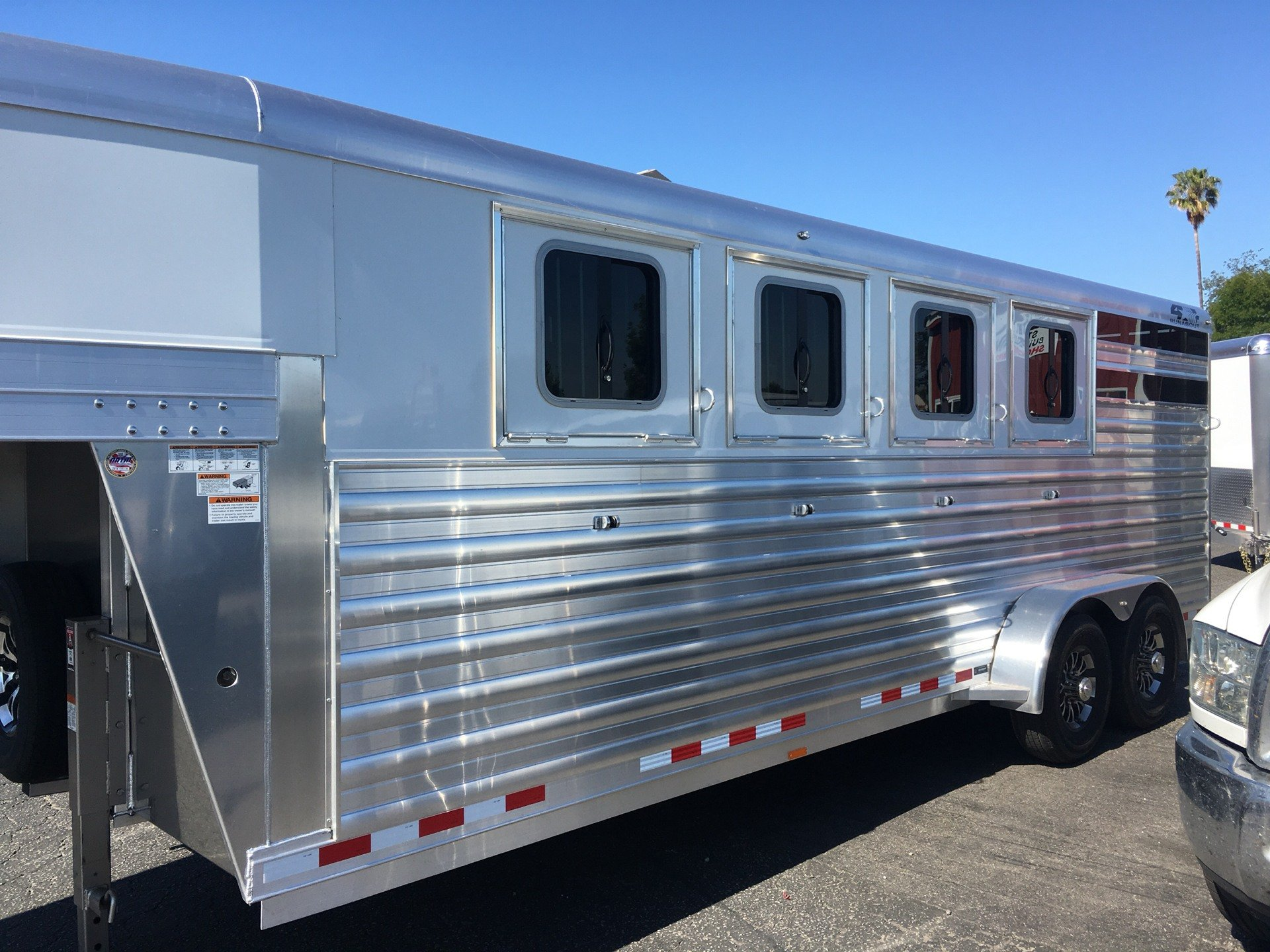 2020 4-STAR TRAILERS 4H  RUNABOUT STOCK COMBO in Paso Robles, California - Photo 3