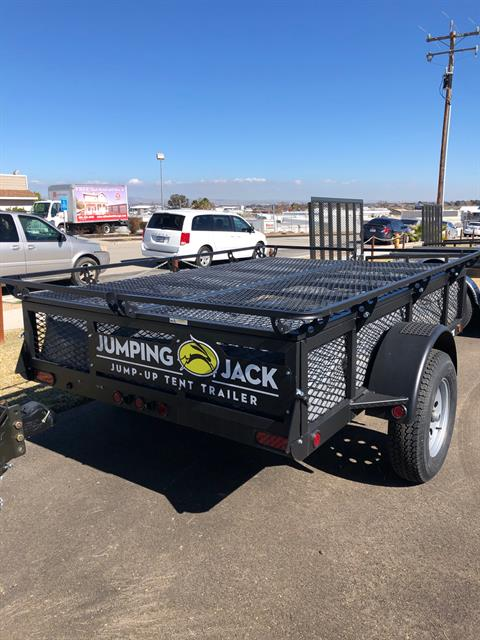 2021 JUMPING JACK TRAILERS  6' X 8' UTILITY W/ SPARE in Paso Robles, California - Photo 4