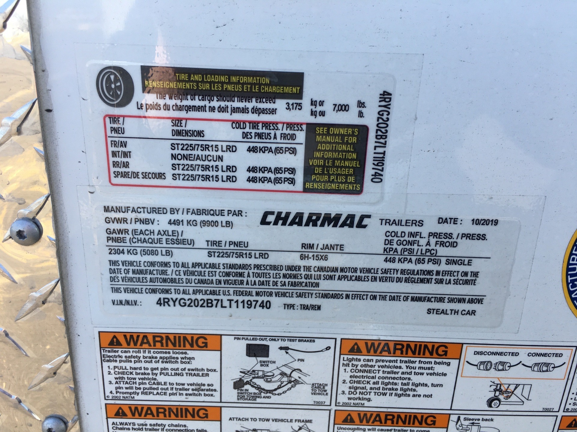 2020 Charmac Trailers STEALTH CAR HAULER 20' in Paso Robles, California - Photo 5