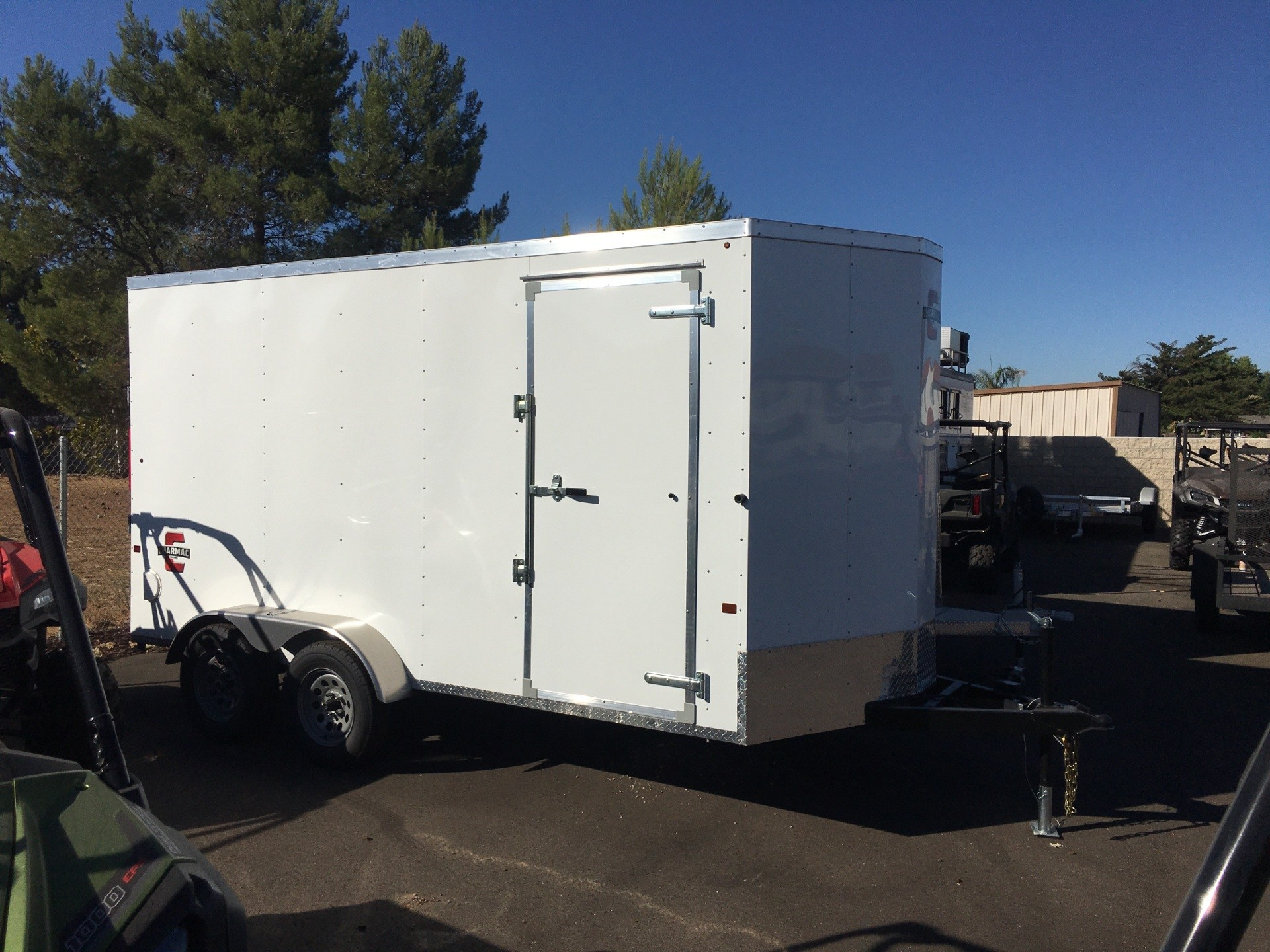 2021 Charmac Trailers 14' X 7' ATLAS CARGO TRAILER in Paso Robles, California - Photo 2