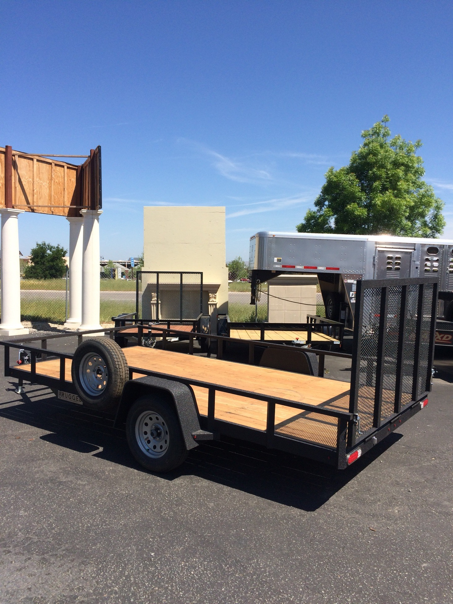 2018 Charmac Trailers 14' x 7' RUGGED STEEL UTILITY TRAILER in Paso Robles, California