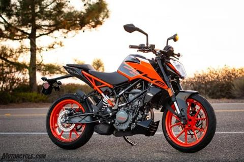 2020 KTM 200 Duke in Paso Robles, California - Photo 3