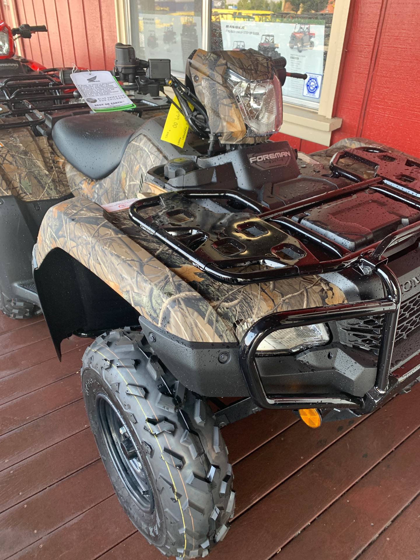 2021 Honda FourTrax Foreman 4x4 in Paso Robles, California - Photo 2