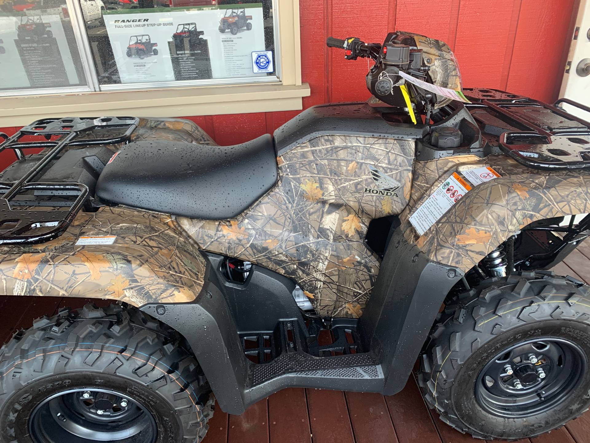 2021 Honda FourTrax Foreman 4x4 ES EPS in Paso Robles, California - Photo 3