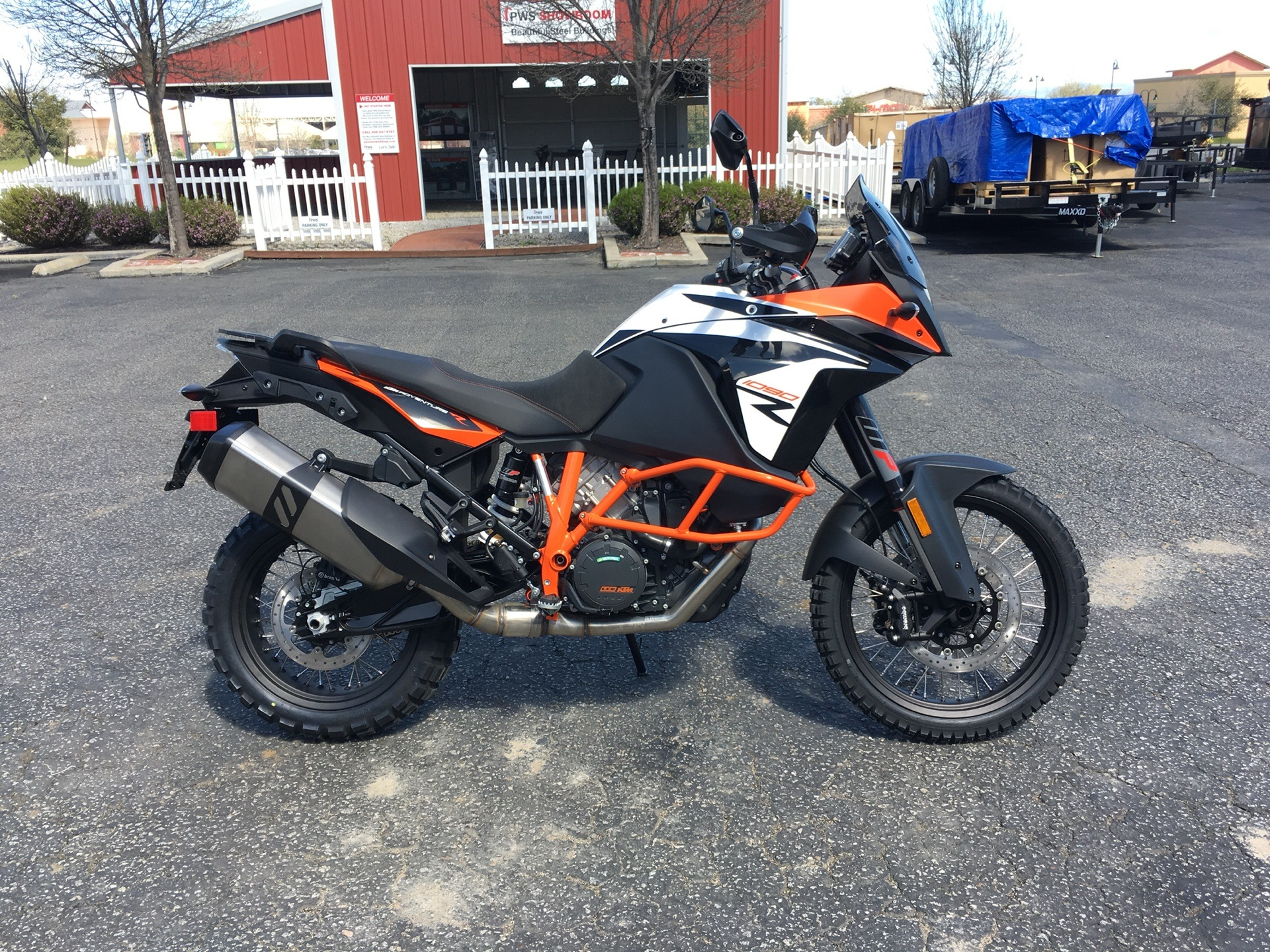 new 2019 ktm 1090 adventure r motorcycles in paso robles ca stock number 05987. Black Bedroom Furniture Sets. Home Design Ideas