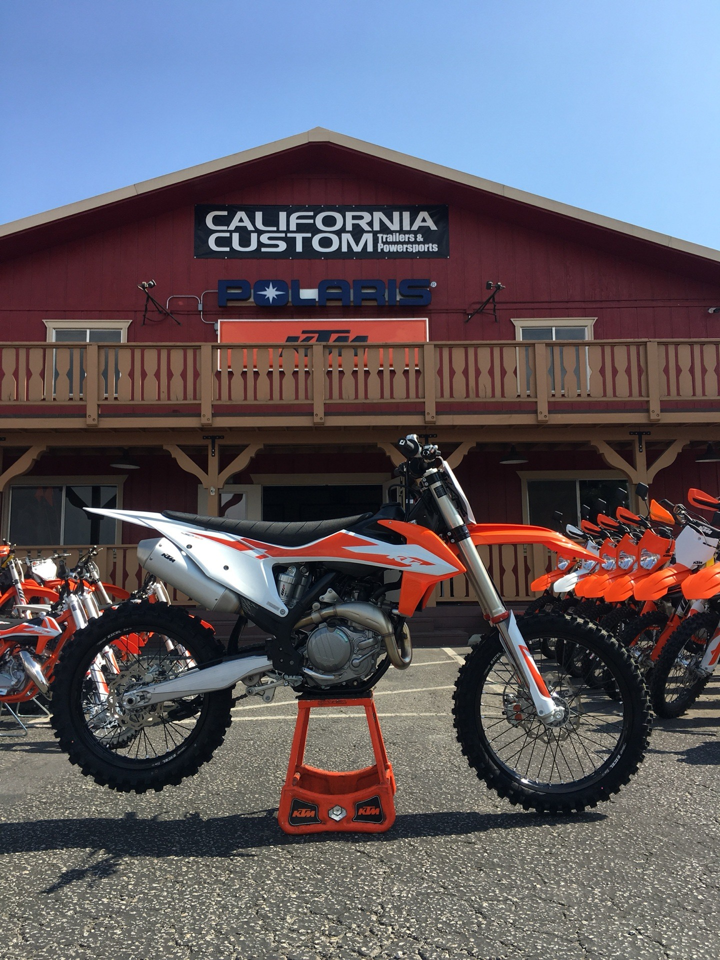 Best 22 Silencer 2020 New 2020 KTM 450 SX F Motorcycles in Paso Robles, CA | Stock