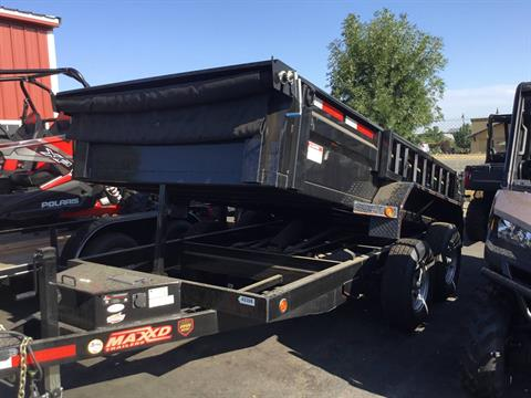 "2017 MAXXD TRAILERS 12' X 72- MAXXD 72"" DUMP in Paso Robles, California"