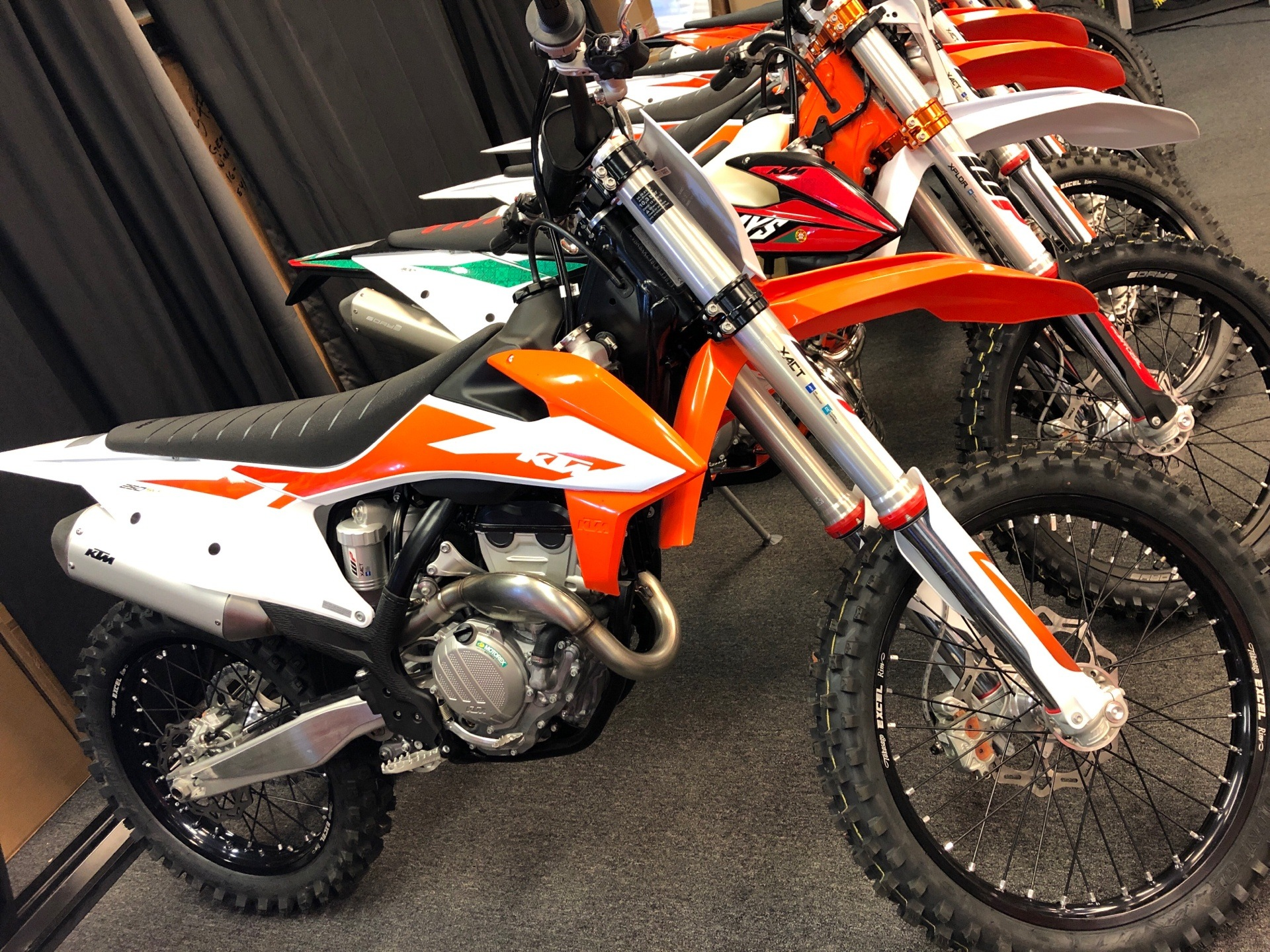 2020 KTM 250 SX-F in Paso Robles, California - Photo 1