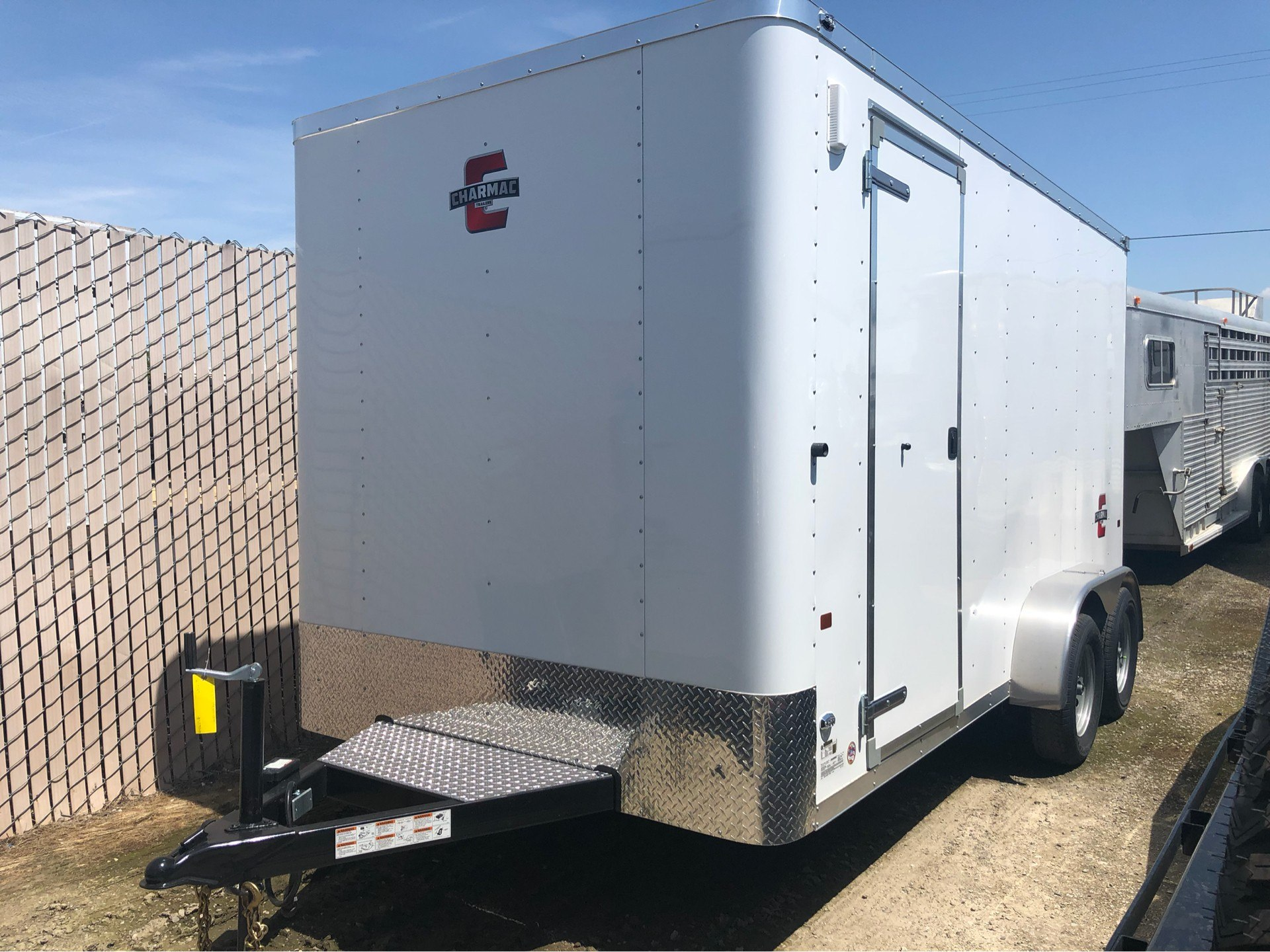 2019 Charmac Trailers 14' X 7' STEALTH CARGO in Elk Grove, California - Photo 1