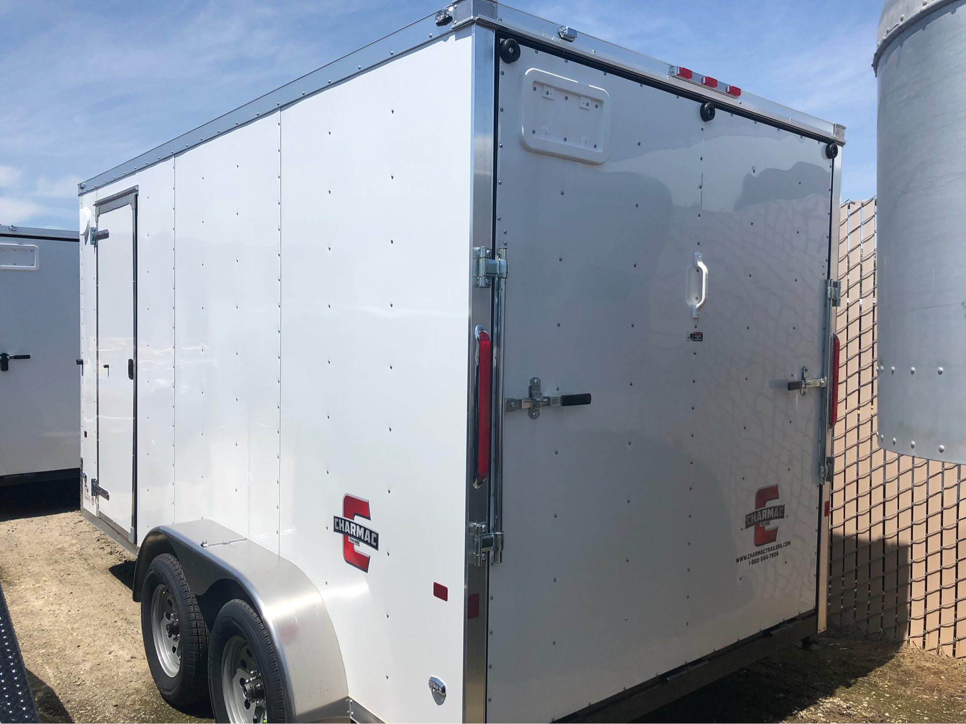 2019 Charmac Trailers 14' X 7' STEALTH CARGO in Elk Grove, California - Photo 6