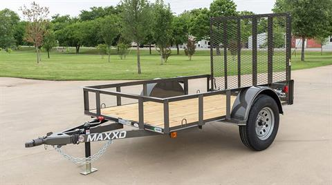 "2018 MAXXD TRAILERS 12' X 61"" SA UTILITY TRAILER in Elk Grove, California - Photo 2"