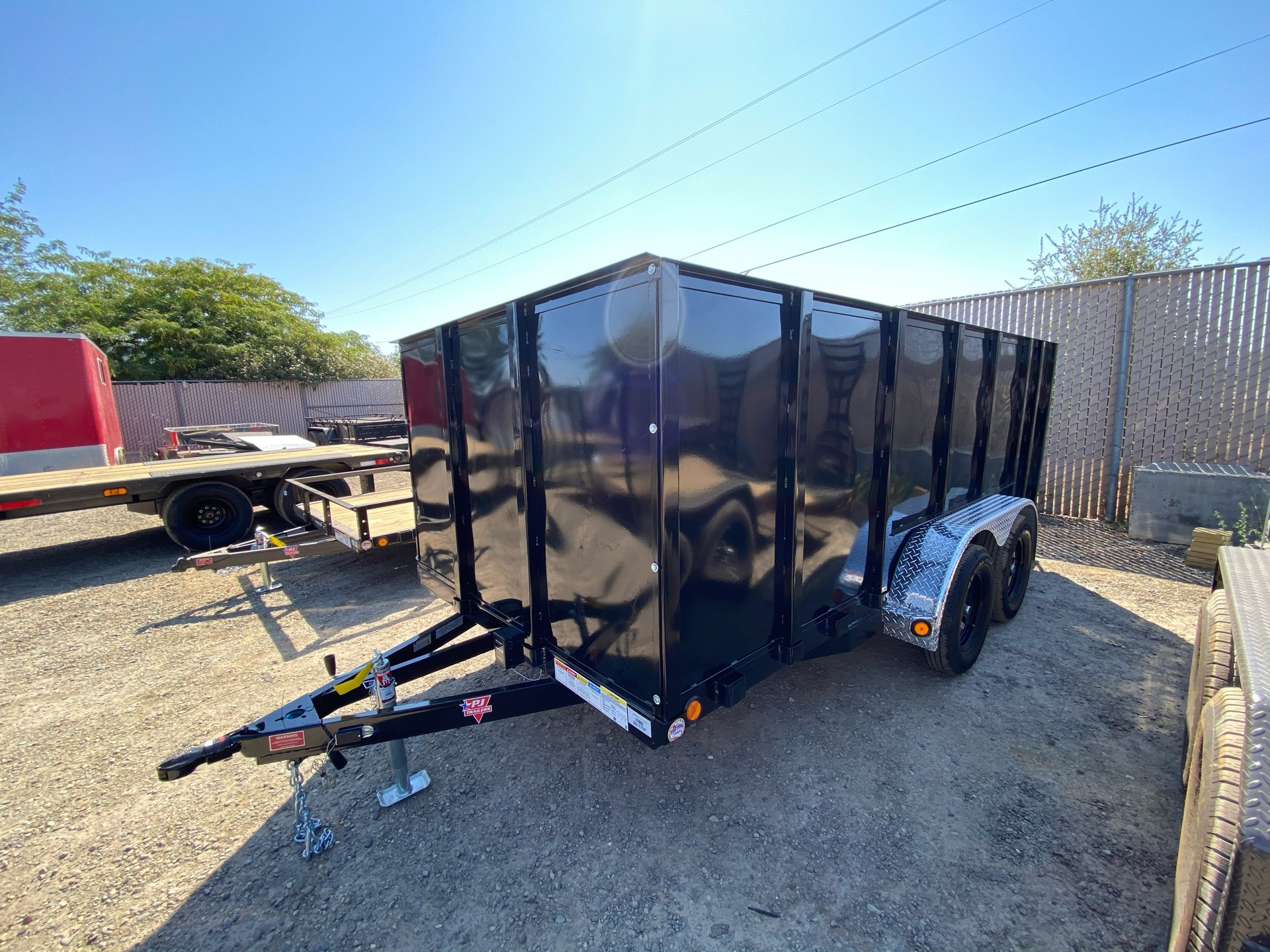 "2021 PJ Trailers 14' x 77"" TA UTILITY TRAILER in Elk Grove, California - Photo 1"