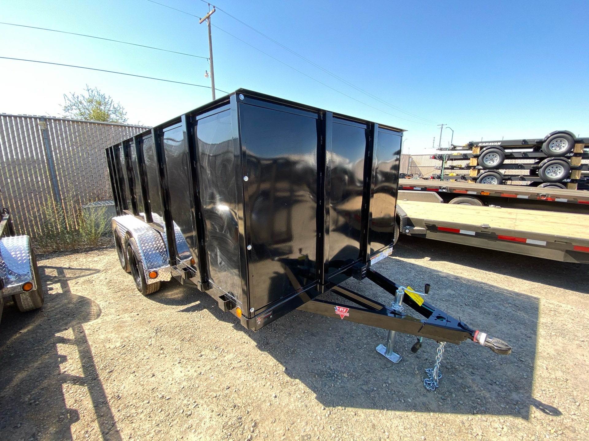 "2021 PJ Trailers 14' x 77"" TA UTILITY TRAILER in Elk Grove, California - Photo 3"
