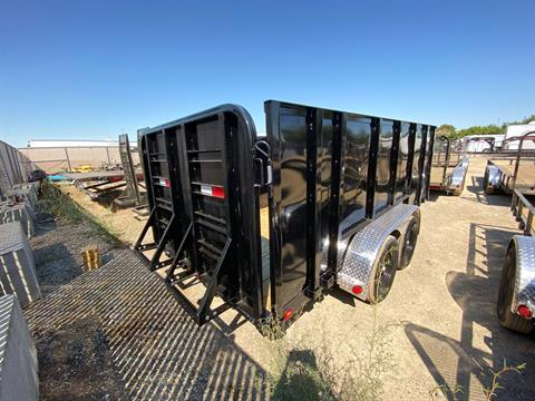 "2021 PJ Trailers 14' x 77"" TA UTILITY TRAILER in Elk Grove, California - Photo 6"