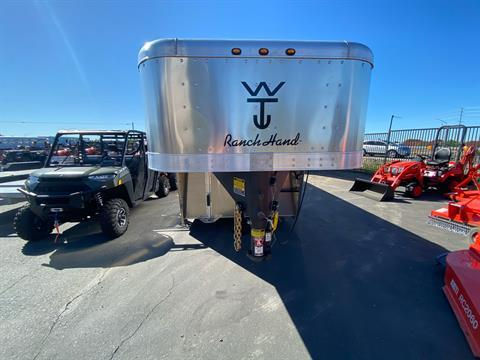 2021 Wilson Trailer - Manufacturers 24' RANCH HAND SLAT SIDE in Elk Grove, California - Photo 3