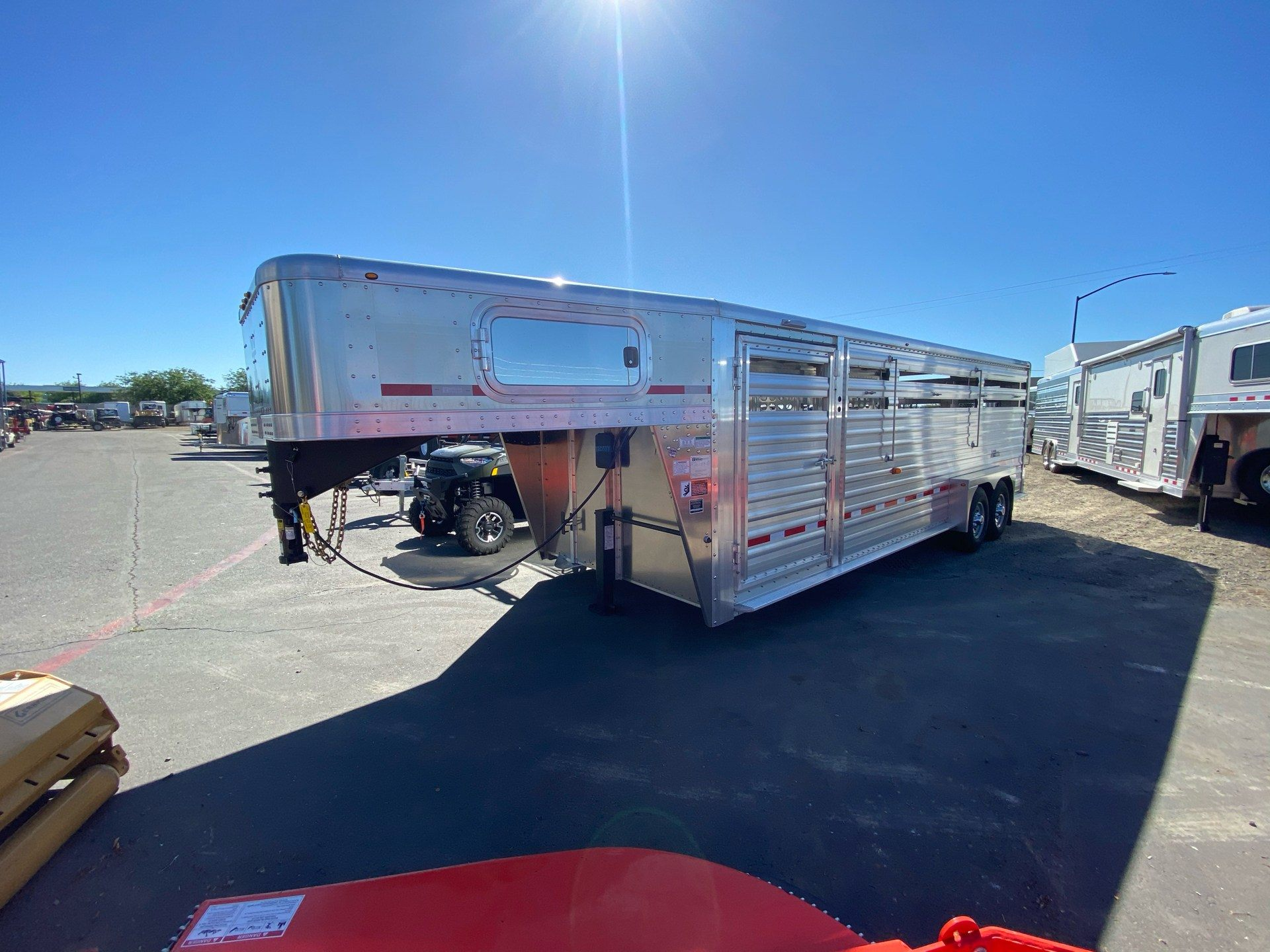 2021 Wilson Trailer - Manufacturers 24' RANCH HAND SLAT SIDE in Elk Grove, California - Photo 1