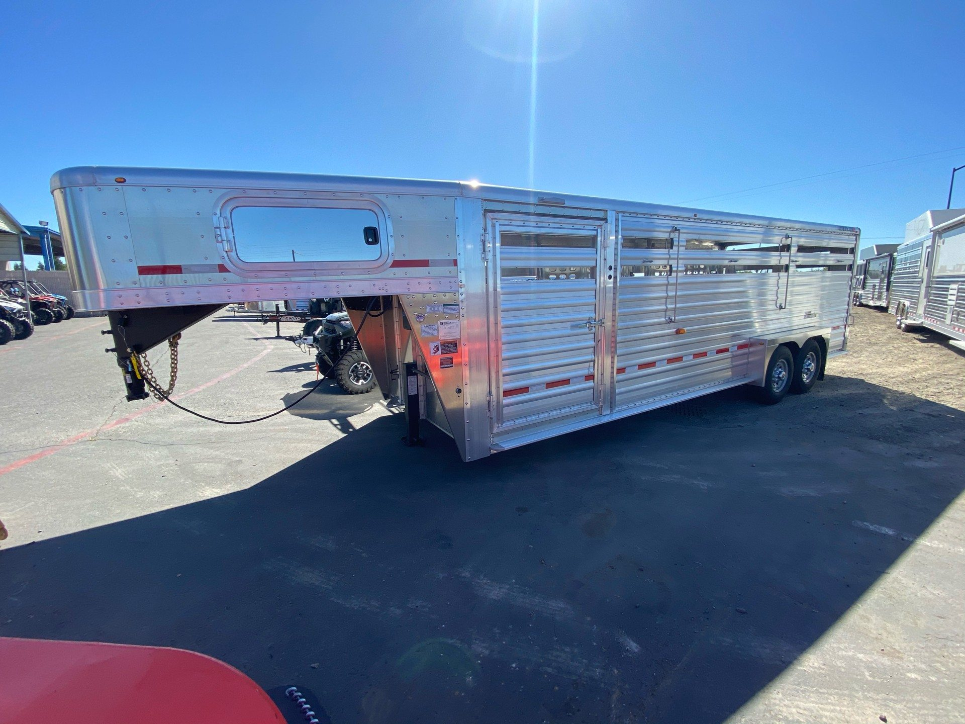2021 Wilson Trailer - Manufacturers 24' RANCH HAND SLAT SIDE in Elk Grove, California - Photo 6