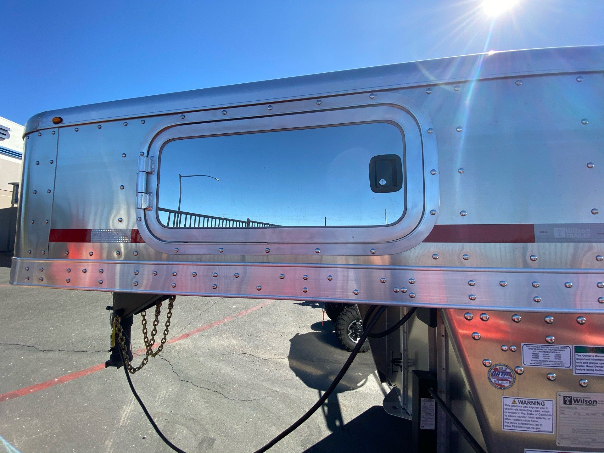 2021 Wilson Trailer - Manufacturers 24' RANCH HAND SLAT SIDE in Elk Grove, California - Photo 7