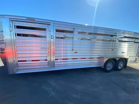 2021 Wilson Trailer - Manufacturers 24' RANCH HAND SLAT SIDE in Elk Grove, California - Photo 11