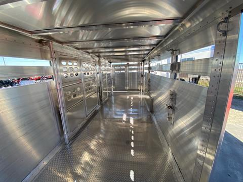 2021 Wilson Trailer - Manufacturers 24' RANCH HAND SLAT SIDE in Elk Grove, California - Photo 20