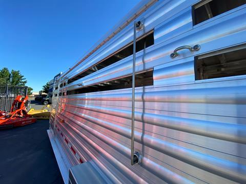 2021 Wilson Trailer - Manufacturers 24' RANCH HAND SLAT SIDE in Elk Grove, California - Photo 23