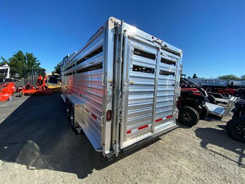 2021 Wilson Trailer - Manufacturers 24' RANCH HAND SLAT SIDE in Elk Grove, California - Photo 24