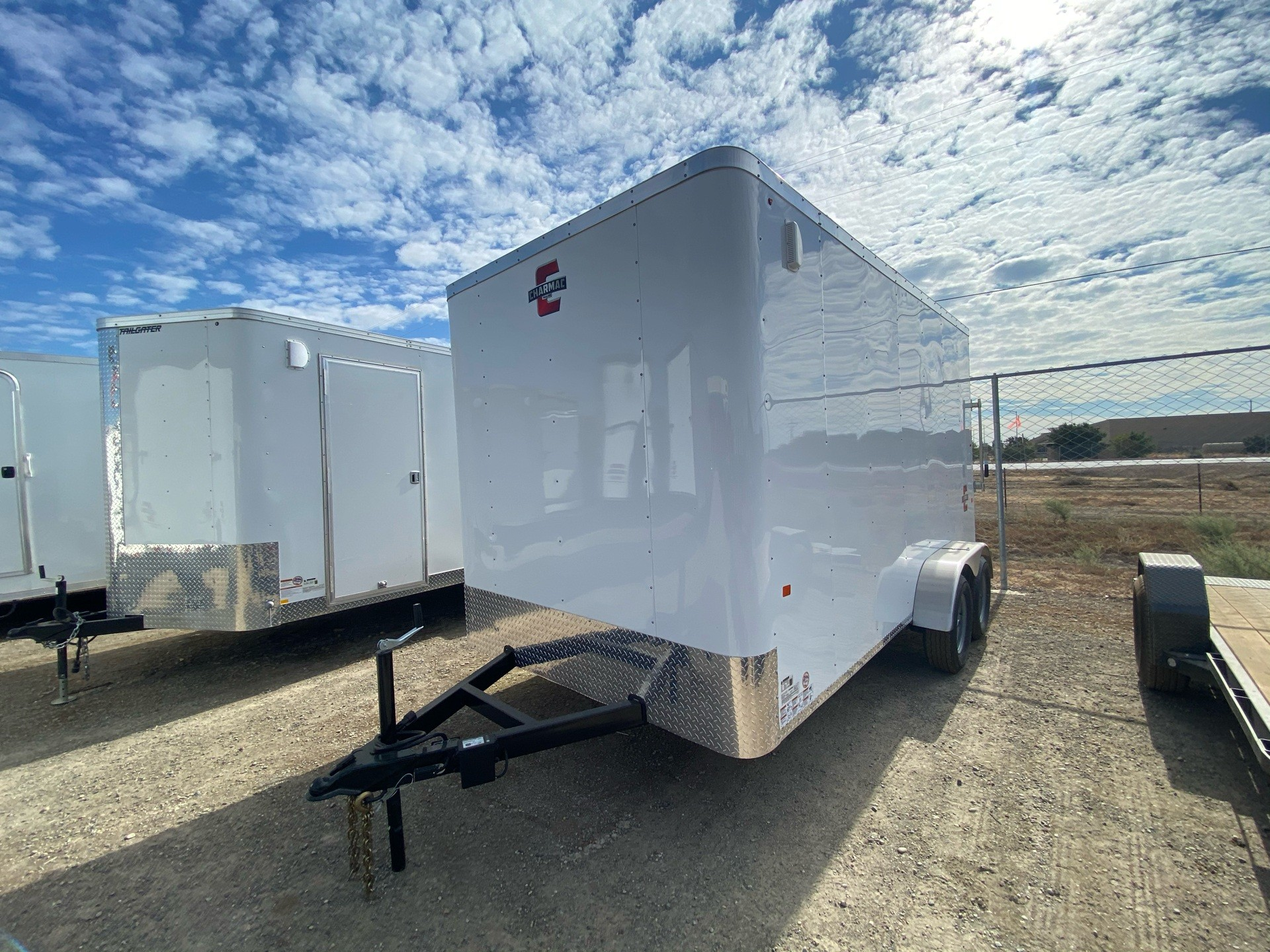 2021 Charmac Trailers 14' x 7' ATLAS CARGO TRAILER in Elk Grove, California - Photo 1