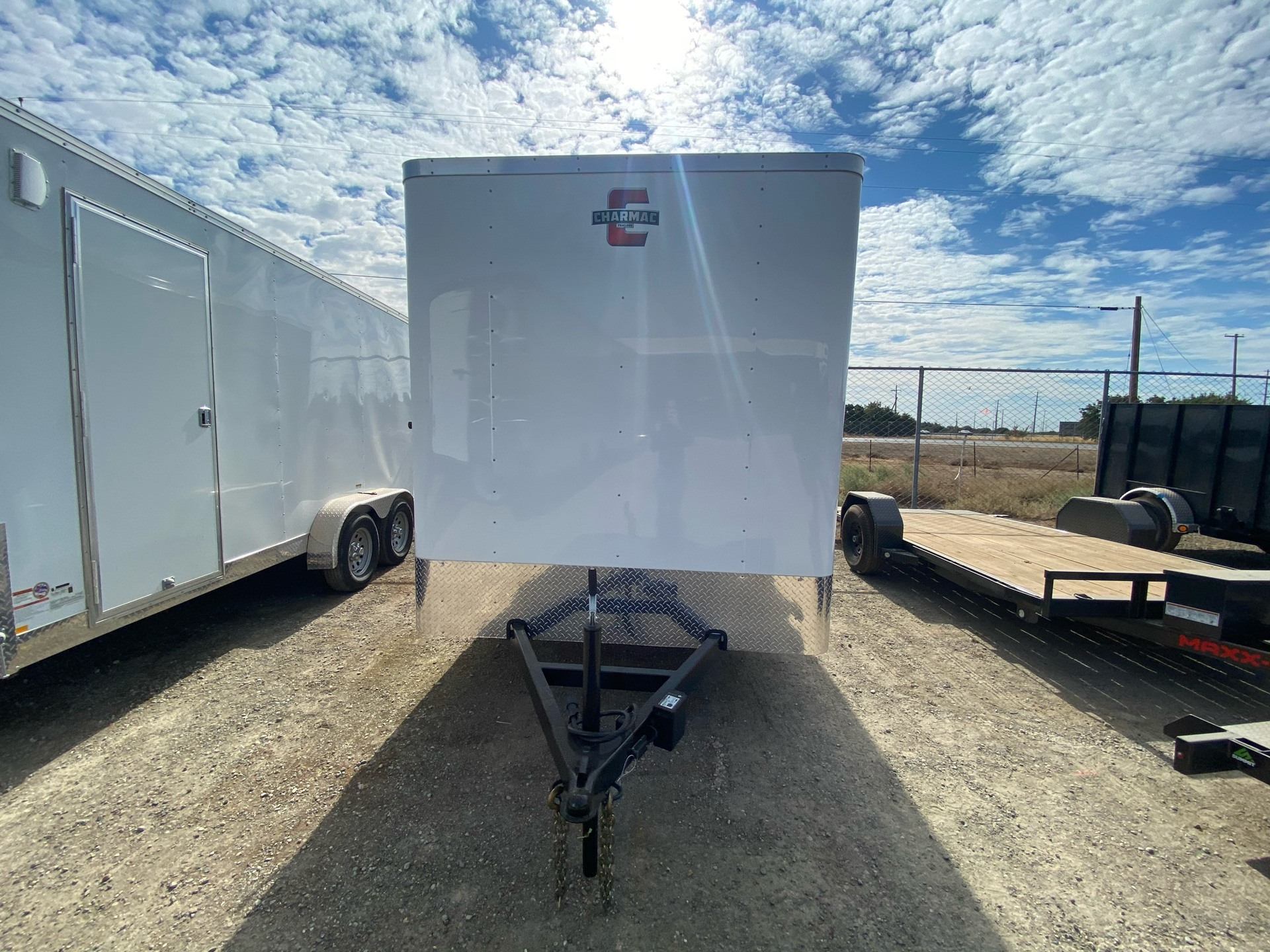 2021 Charmac Trailers 14' x 7' ATLAS CARGO TRAILER in Elk Grove, California - Photo 2