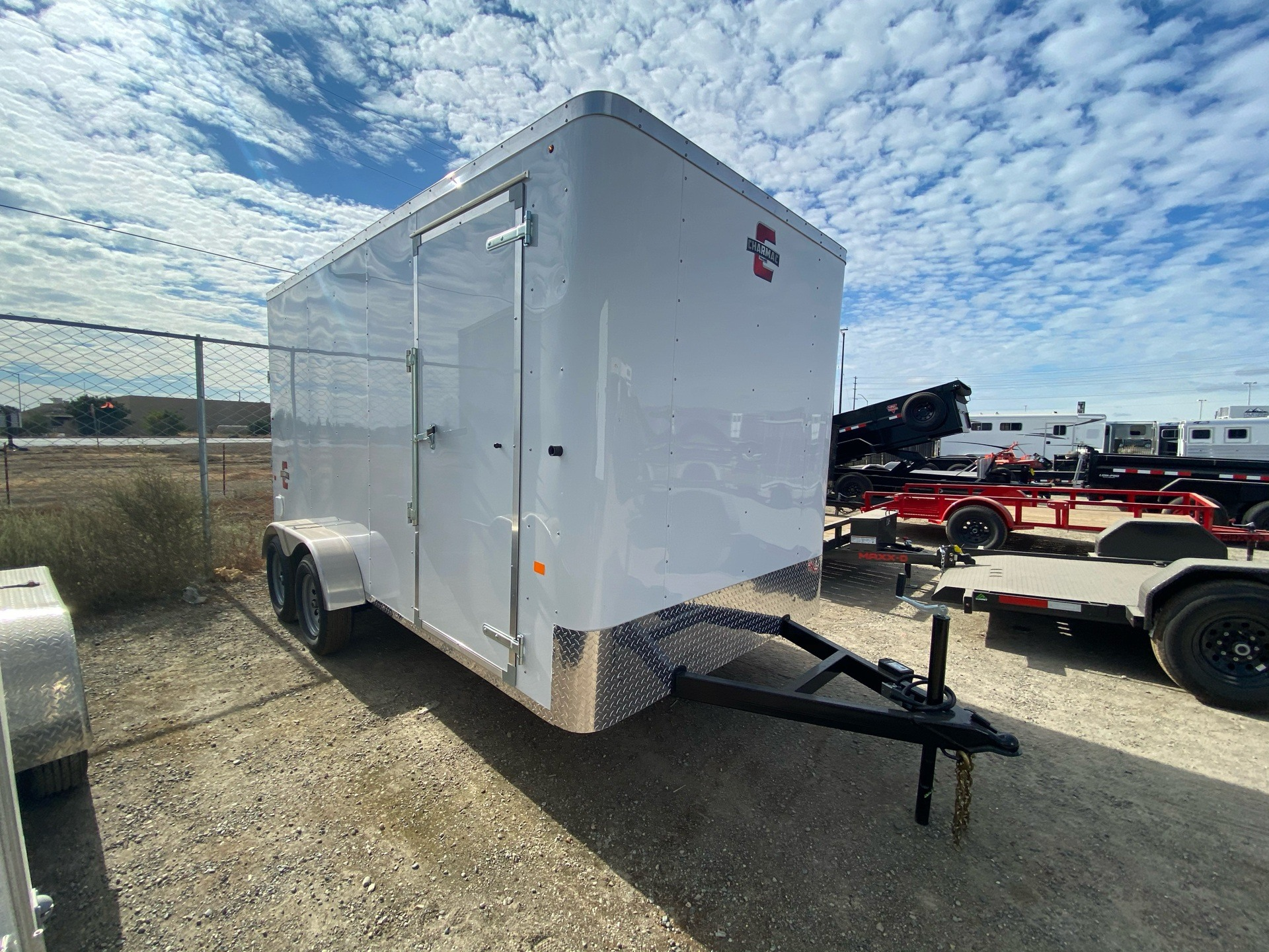 2021 Charmac Trailers 14' x 7' ATLAS CARGO TRAILER in Elk Grove, California - Photo 3