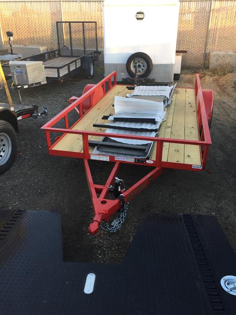 "2018 MAXXD TRAILERS 12'x72"" SA UTILITY TRAILER in Elk Grove, California"