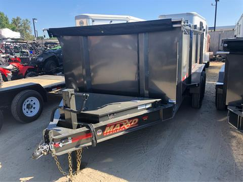 "2020 MAXXD TRAILERS 14' X 83"" I-BEAM DUMP in Elk Grove, California"
